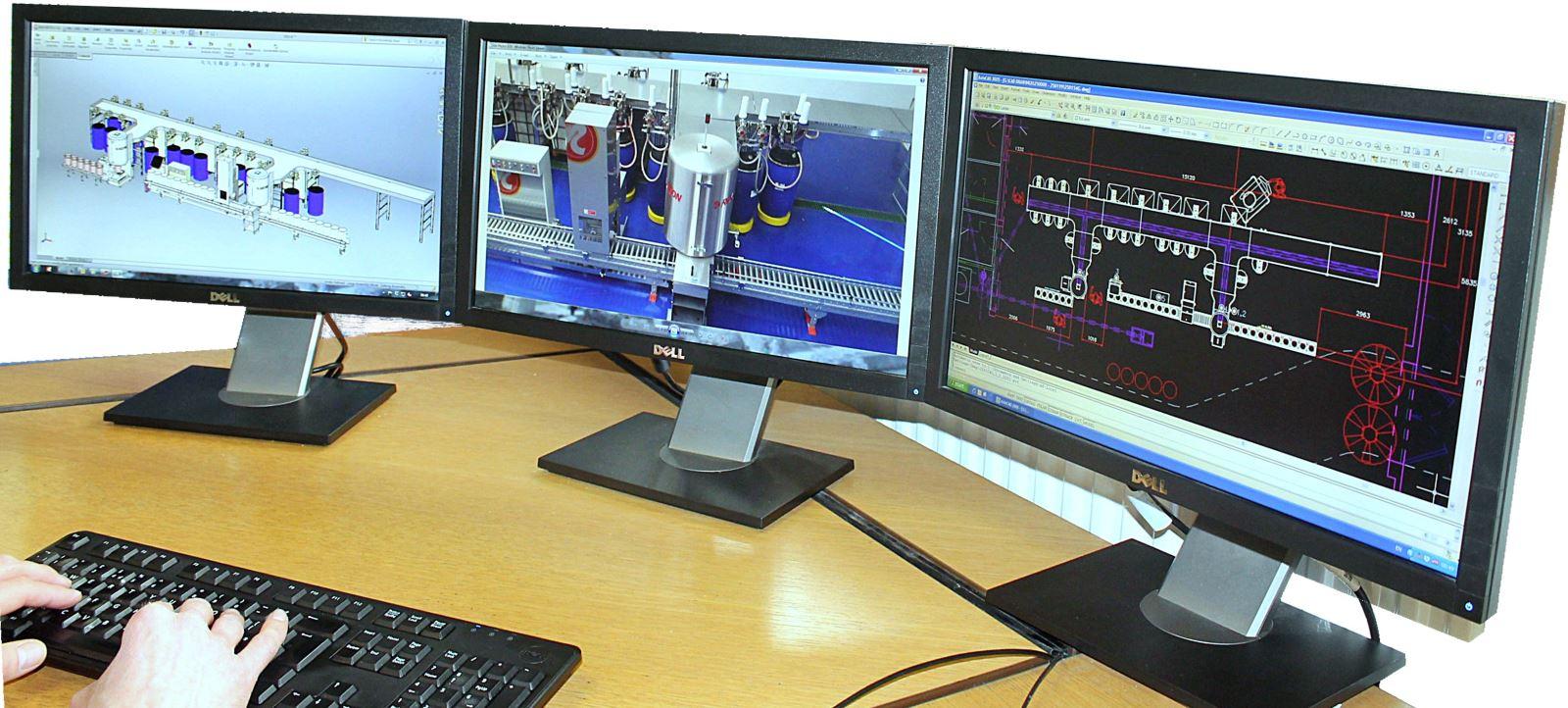 Ink dispensing system design